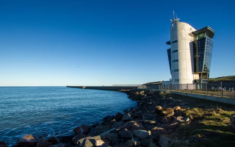 Aberdeen harbour control tower
