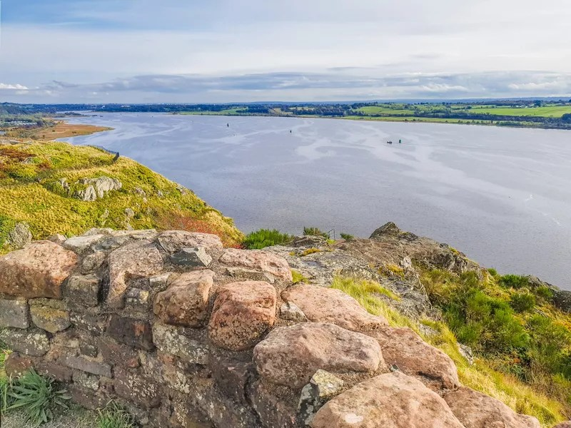 View from Dumbarton Castle along the RIver Clyde