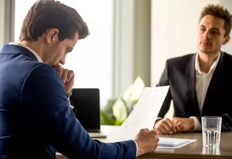 Rozmowa rekrutacyjna z rekruterem