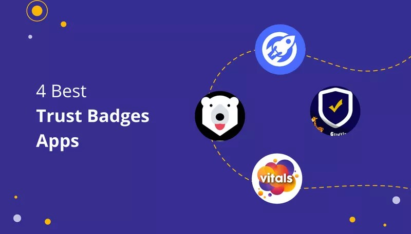 4 Great Trust Badges Shopify Apps
