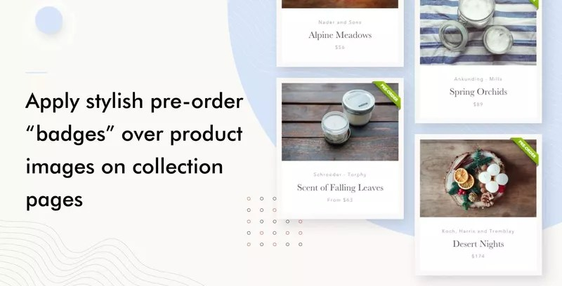 Pre‑order Now by Website On-Demand — Badges
