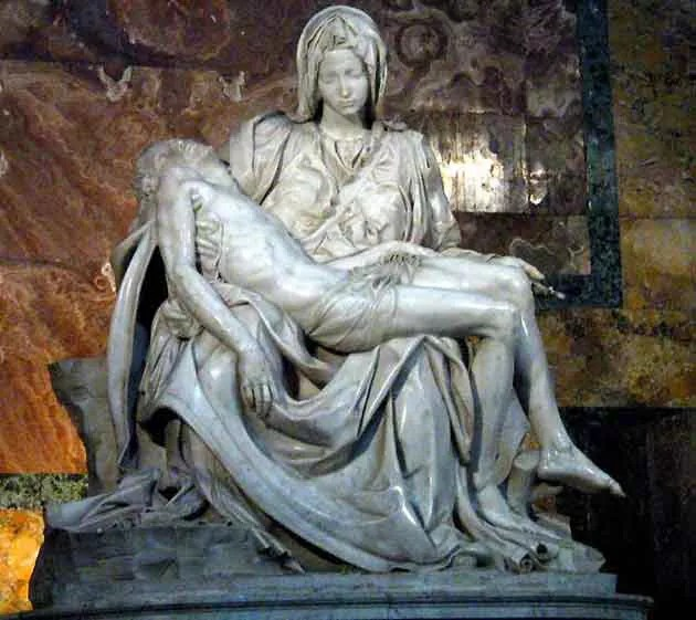 Patung Pieta Michelangelo