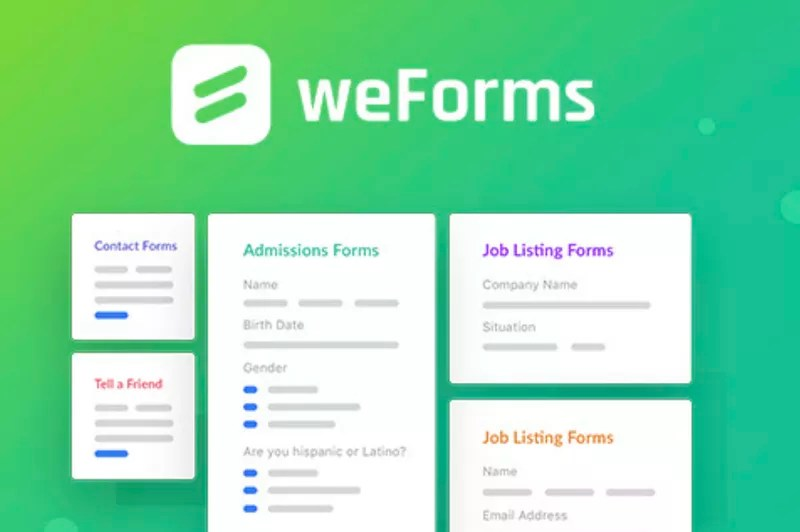 weForms