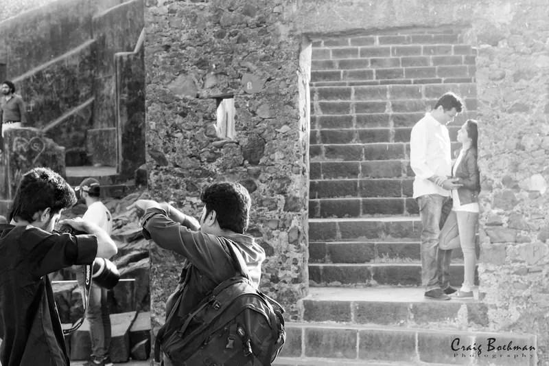 Pre-wedding shoot at Bandra Fort