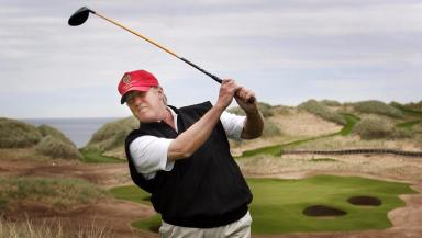 Trump: He has spent 125 days at his golf properties in his presidency.