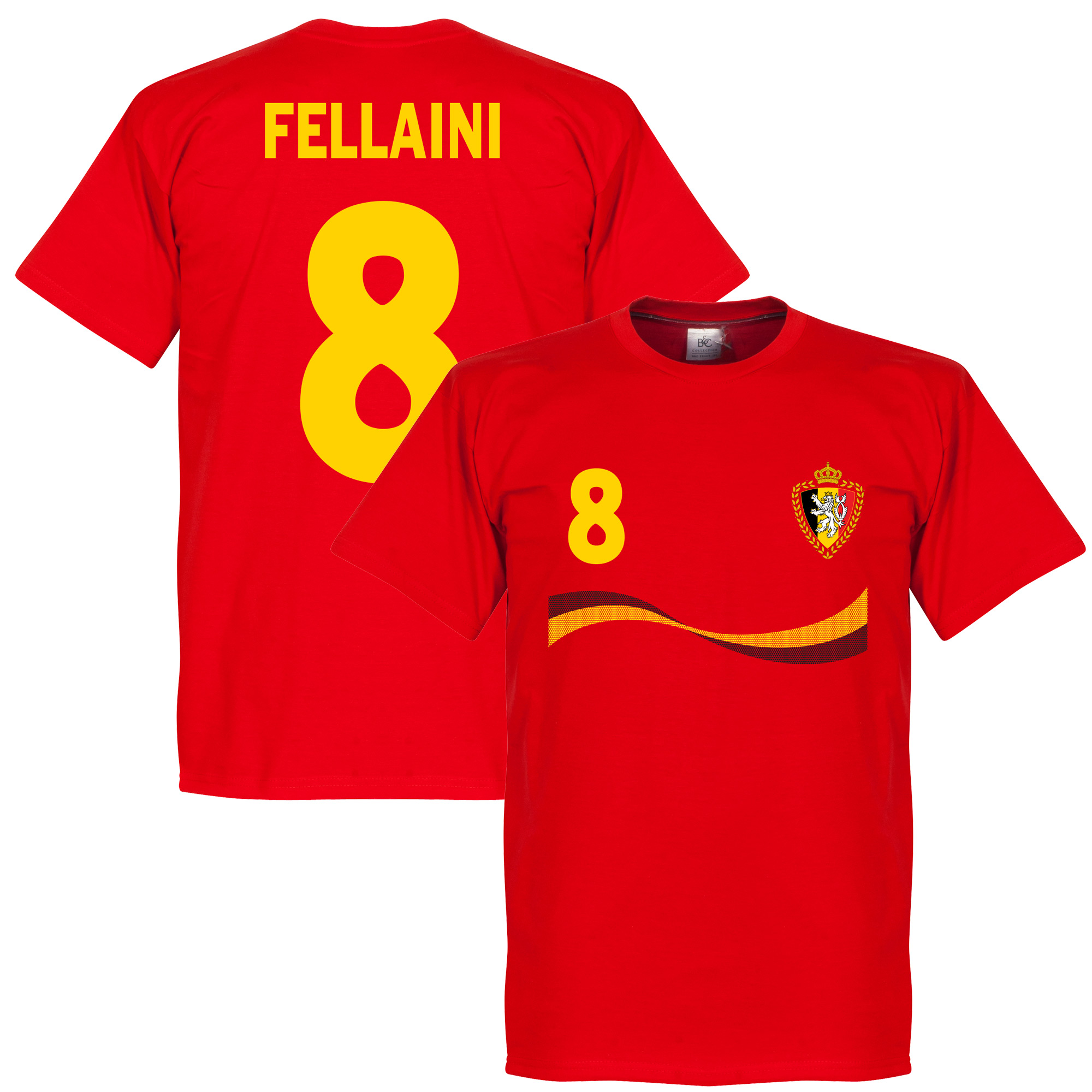 Belgium Fellaini Tee - Red - XXXL