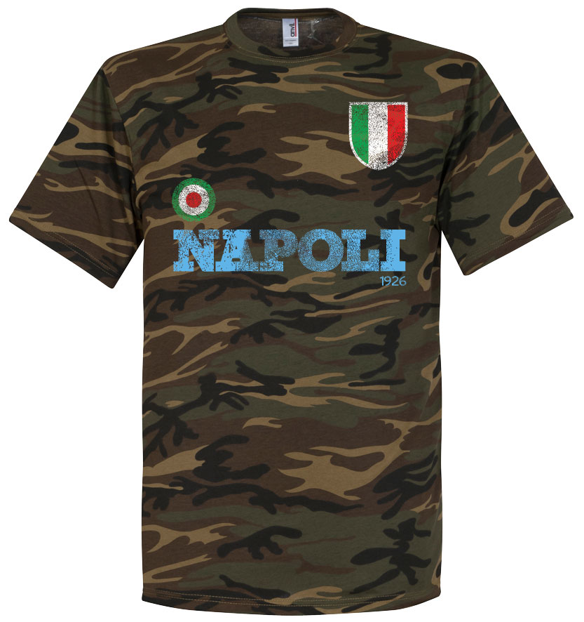 Napoli Camo Tee - XXL