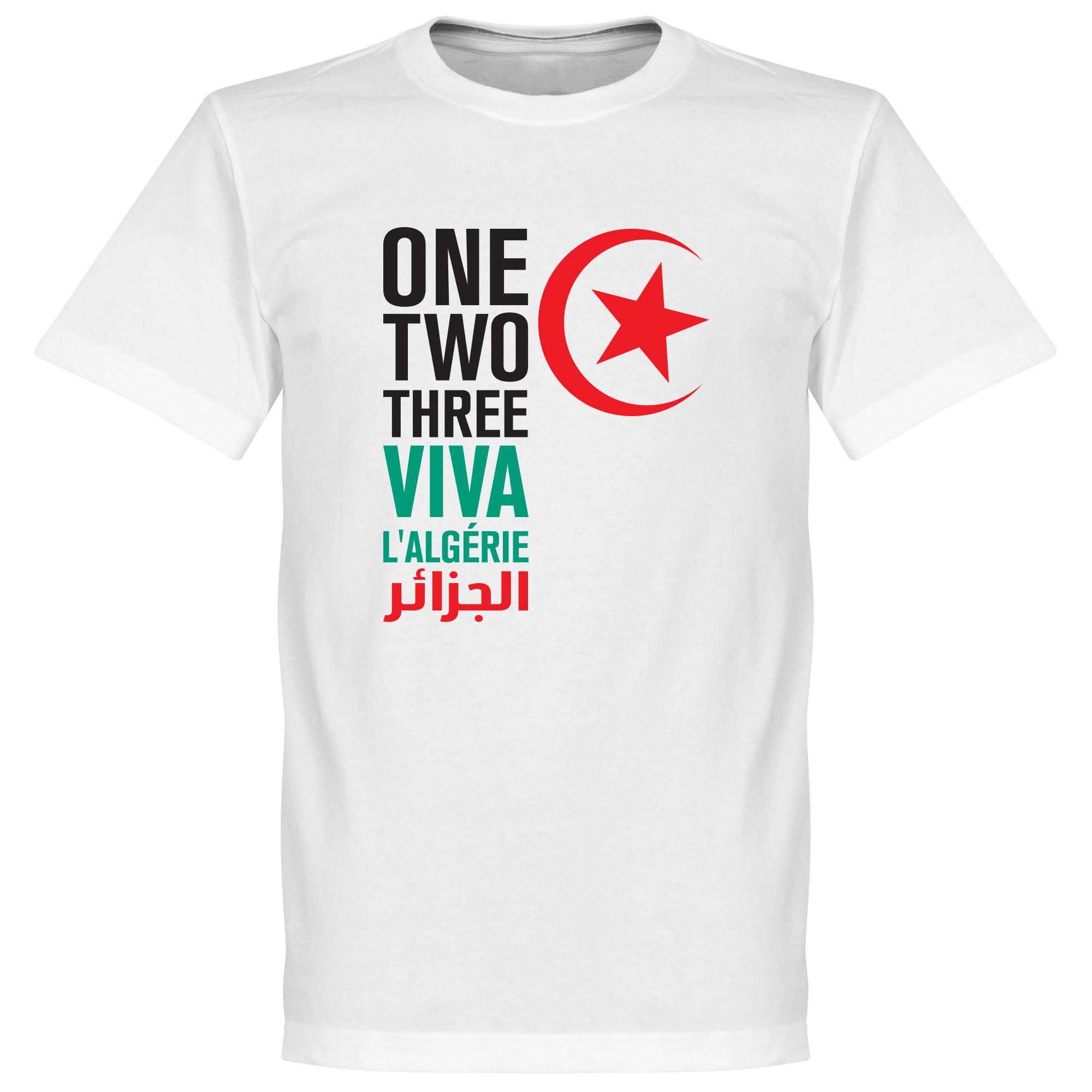 Viva L'Algerie Tee - White - S