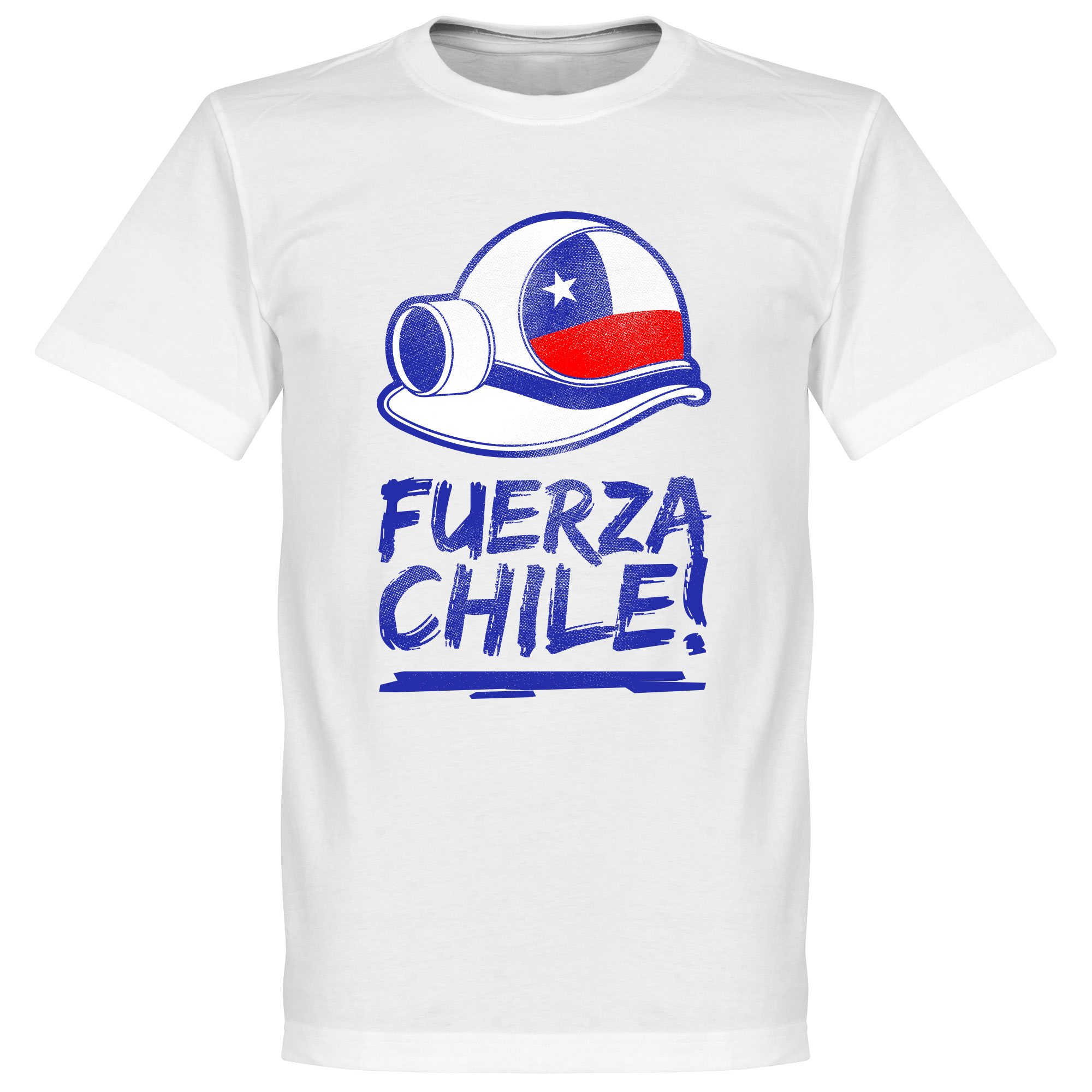 Los 33 Fuerza Chile Tee - White - M