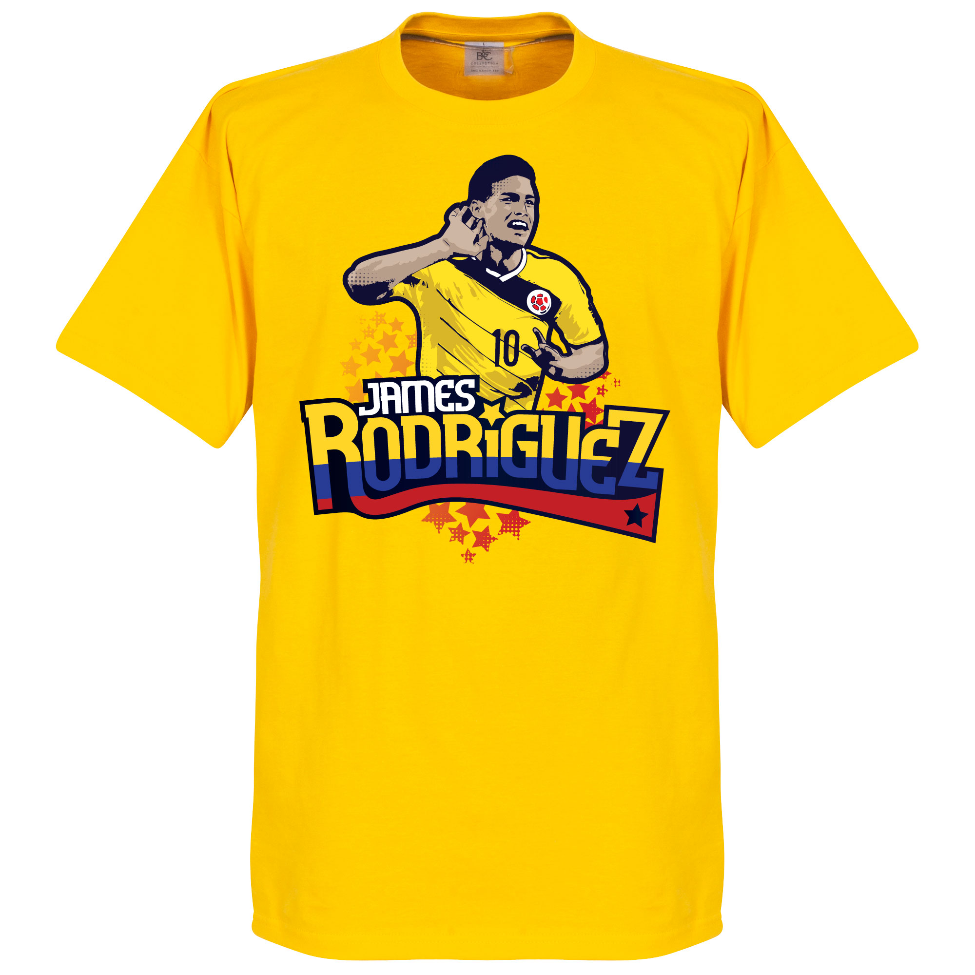 Colombia James Rodriguez Boys Tee - Yellow - 6