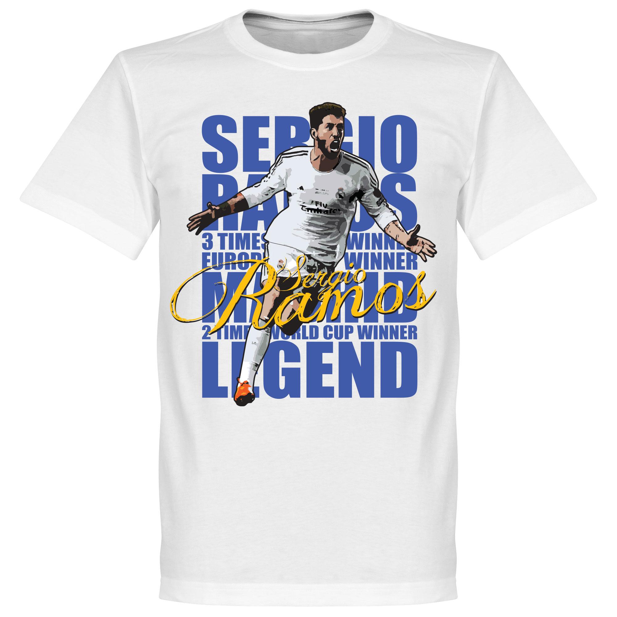 Sergio Ramos Legend Tee - White - XXL