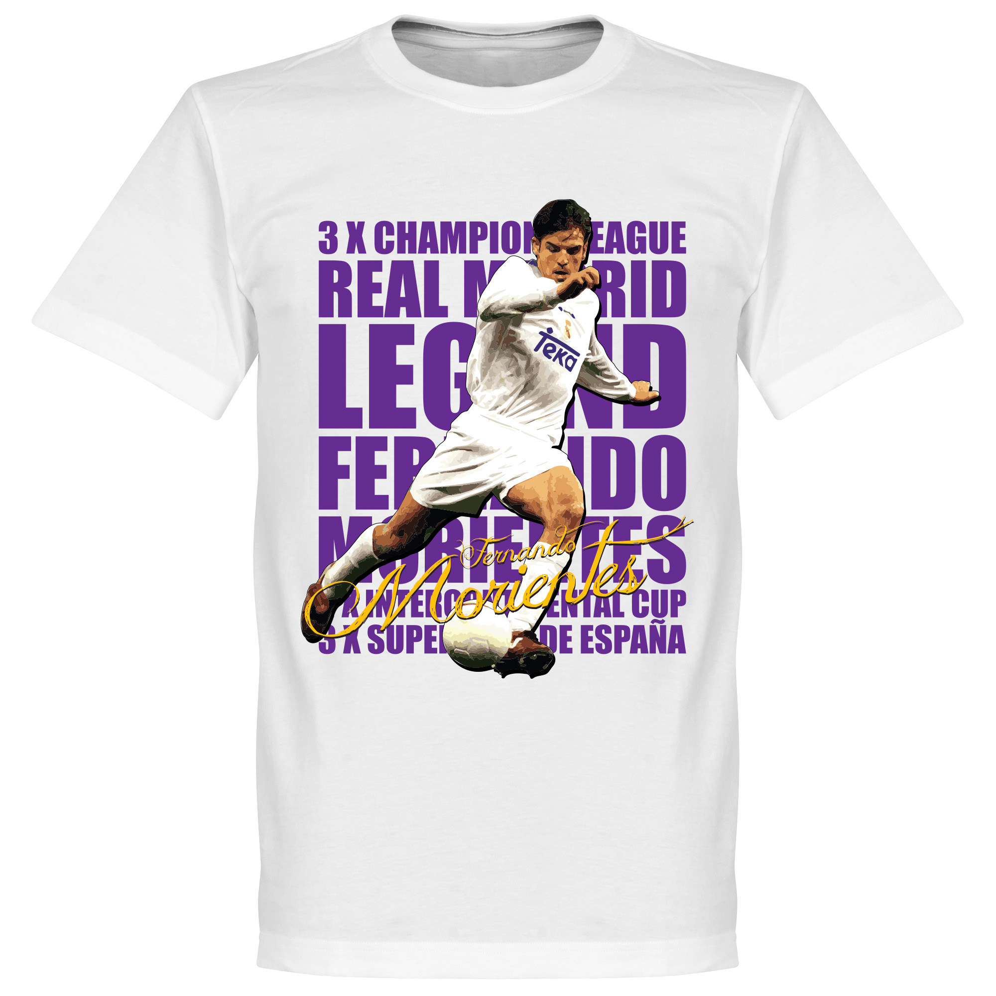Morientes Legend Tee - White - XL