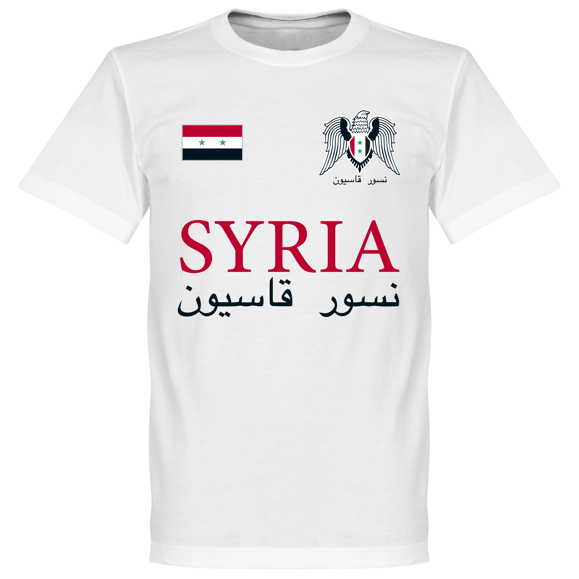 Syria National Tee - White - L