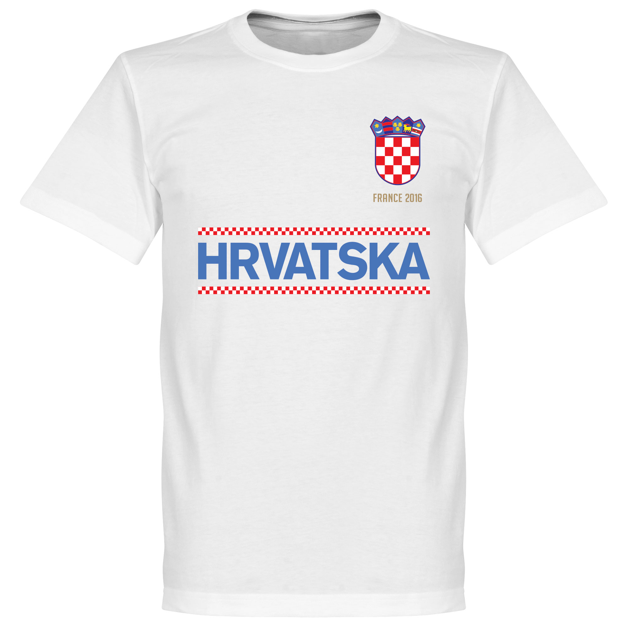 Croatia Team Tee - White - XS