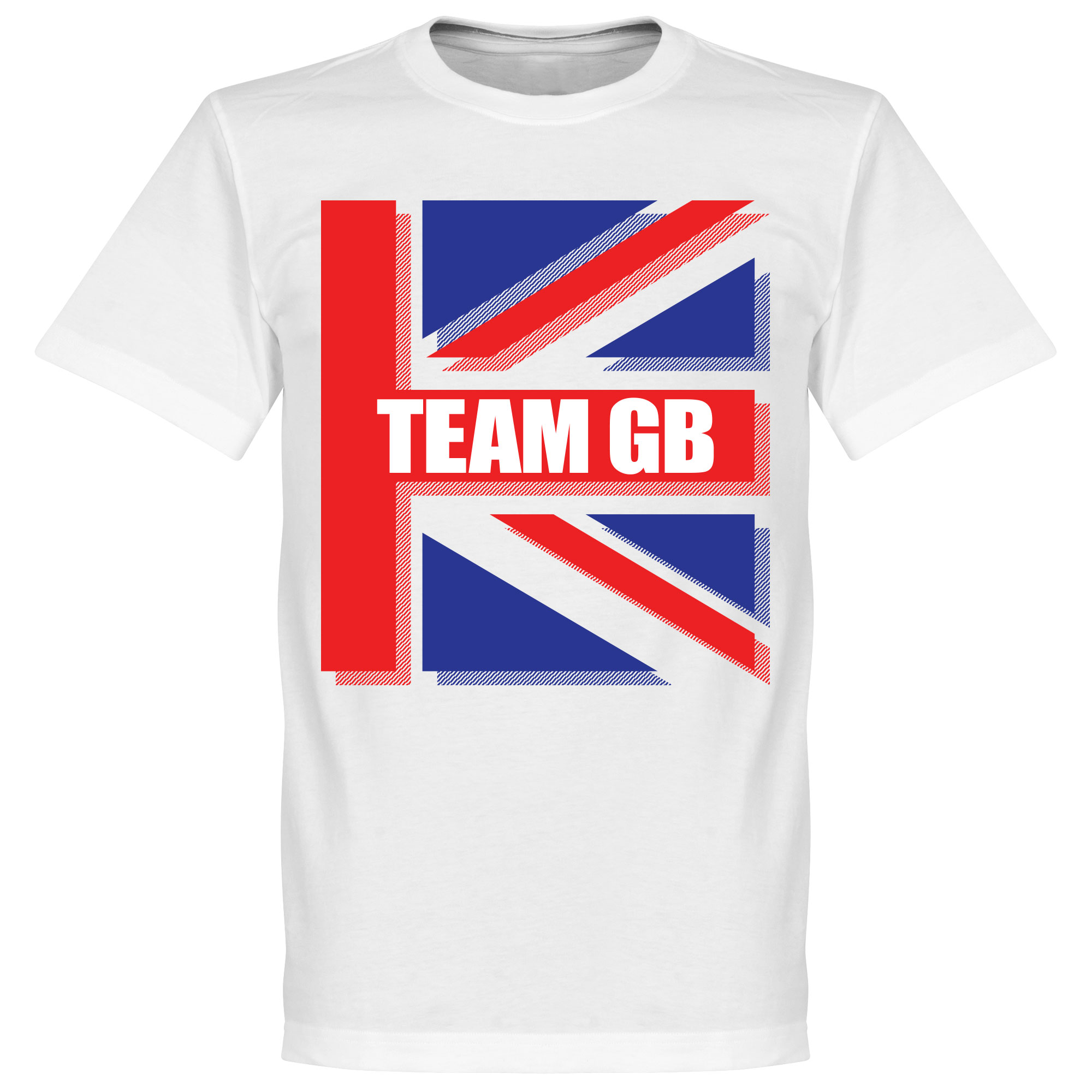 Team GB Tee - White - XXXXL