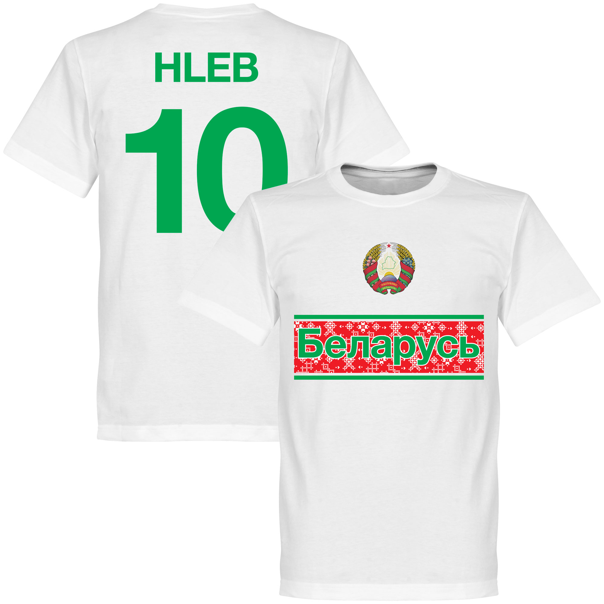 Belarus Team Hleb Tee - White - XL