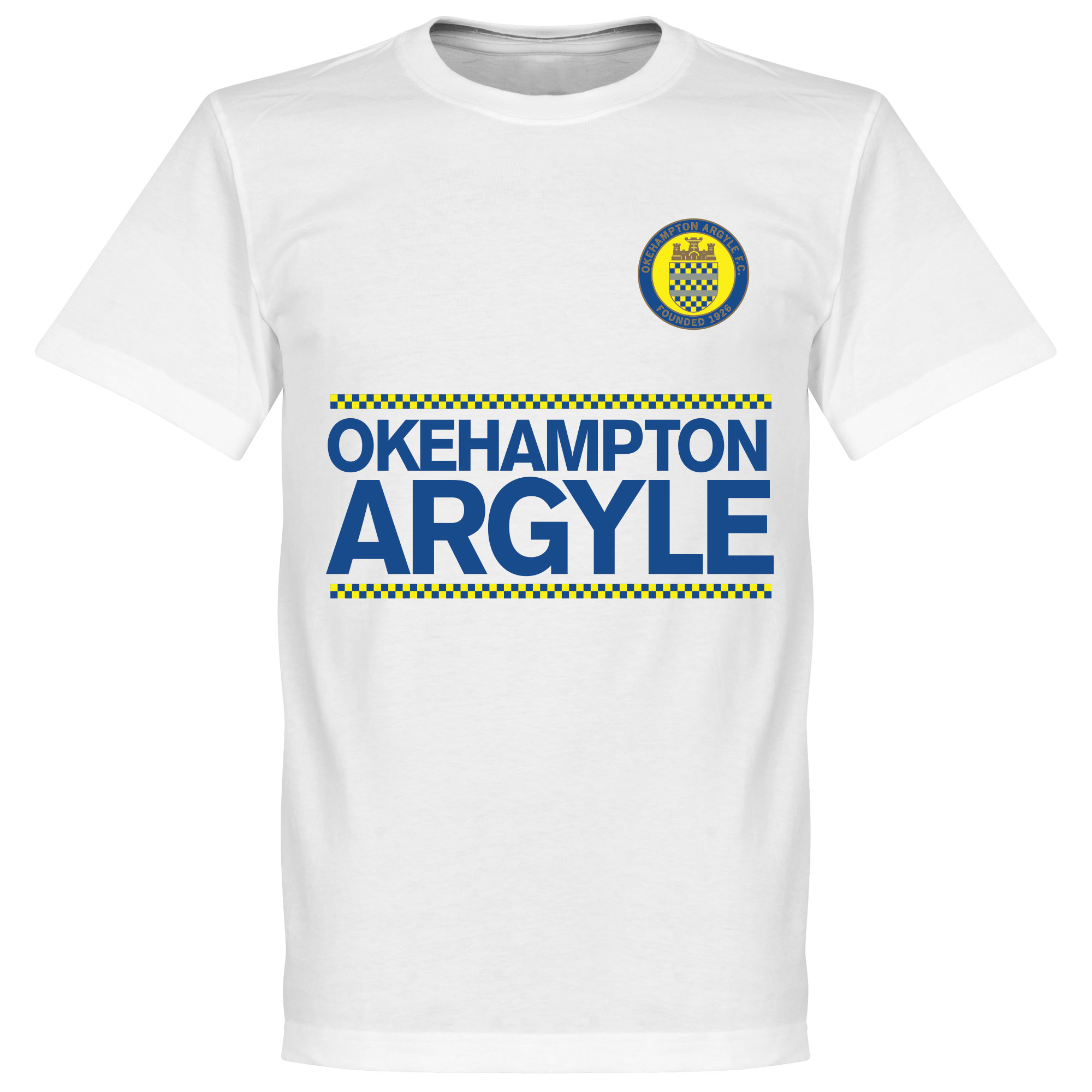 Okehampton Argyle Team Assist KIDS Tee - White - 12
