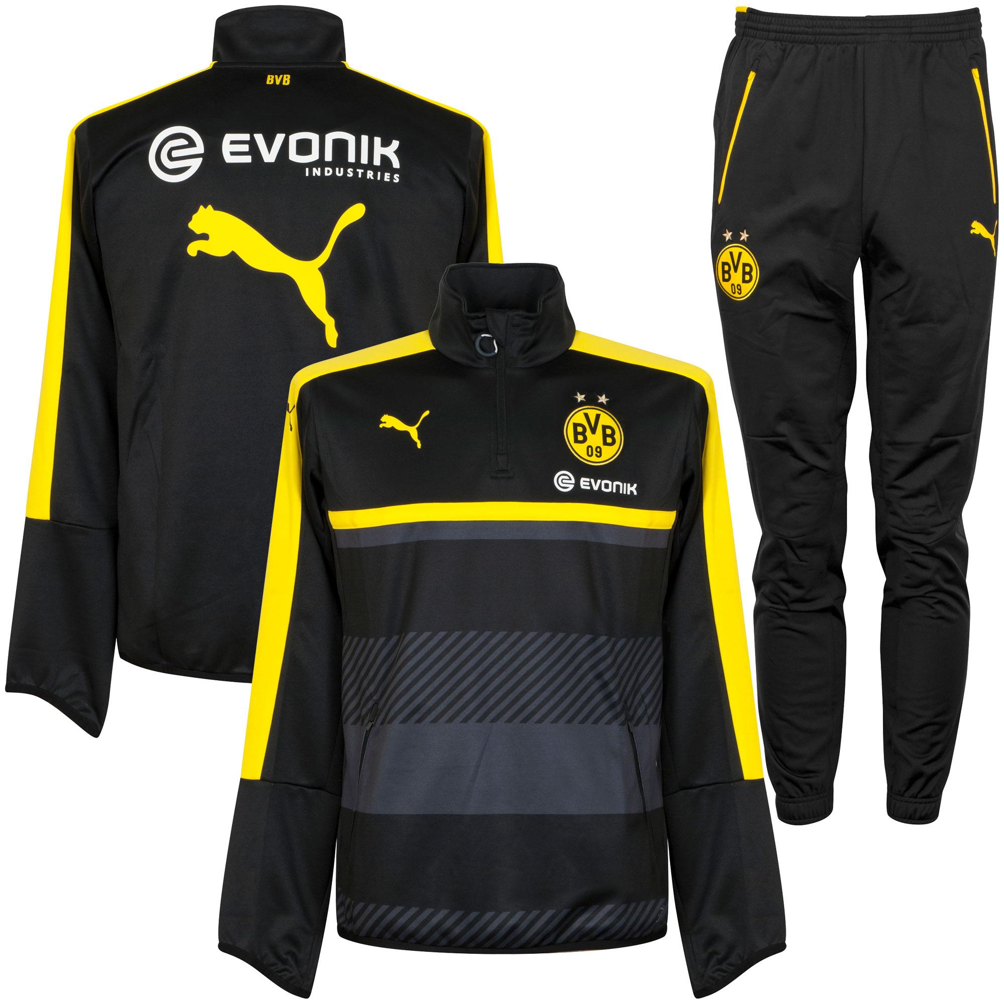 Borussia Dortmund KIDS Training Suit 2016 / 2017 - Black - 176