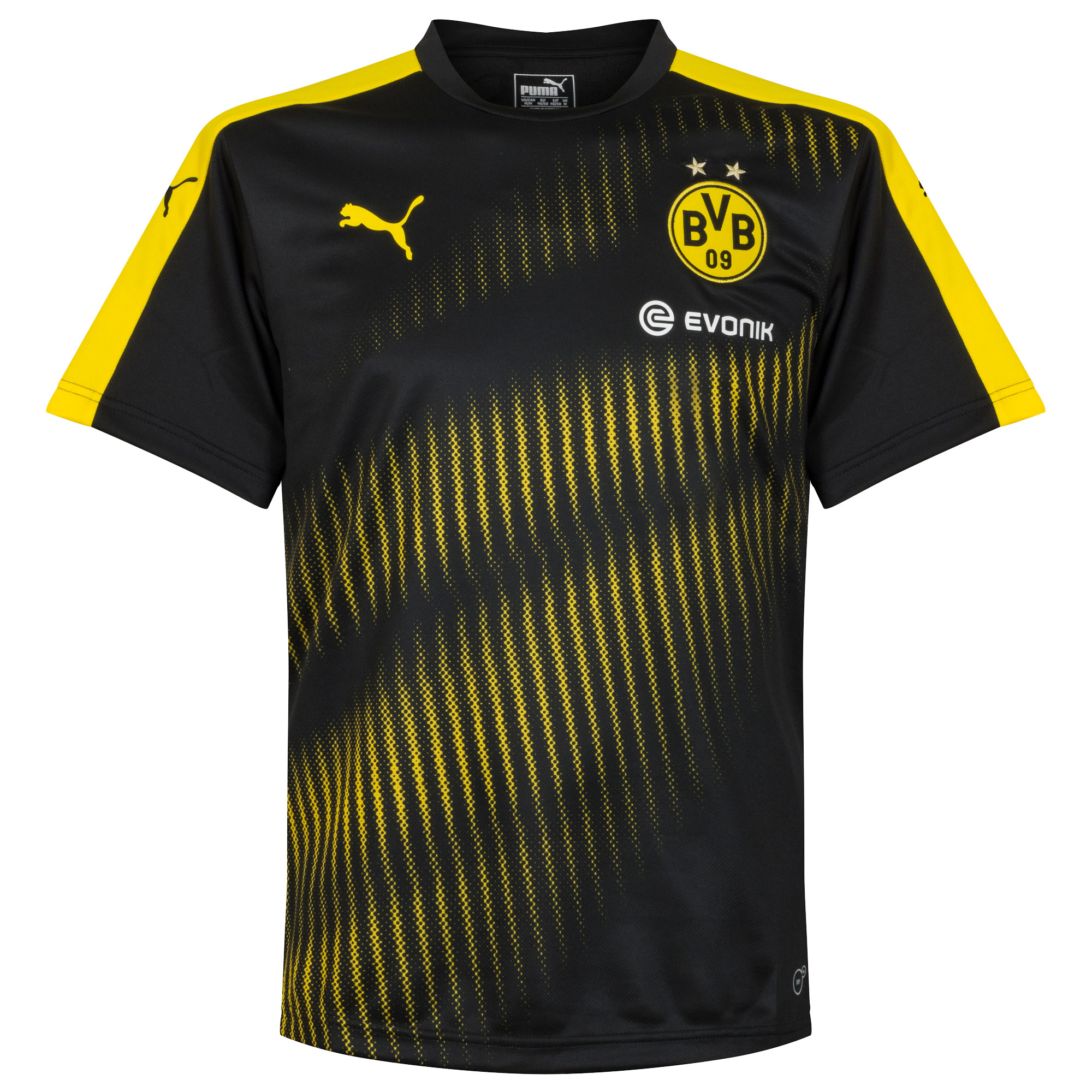 2017 Borussia Dortmund Training Jersey - Black - S