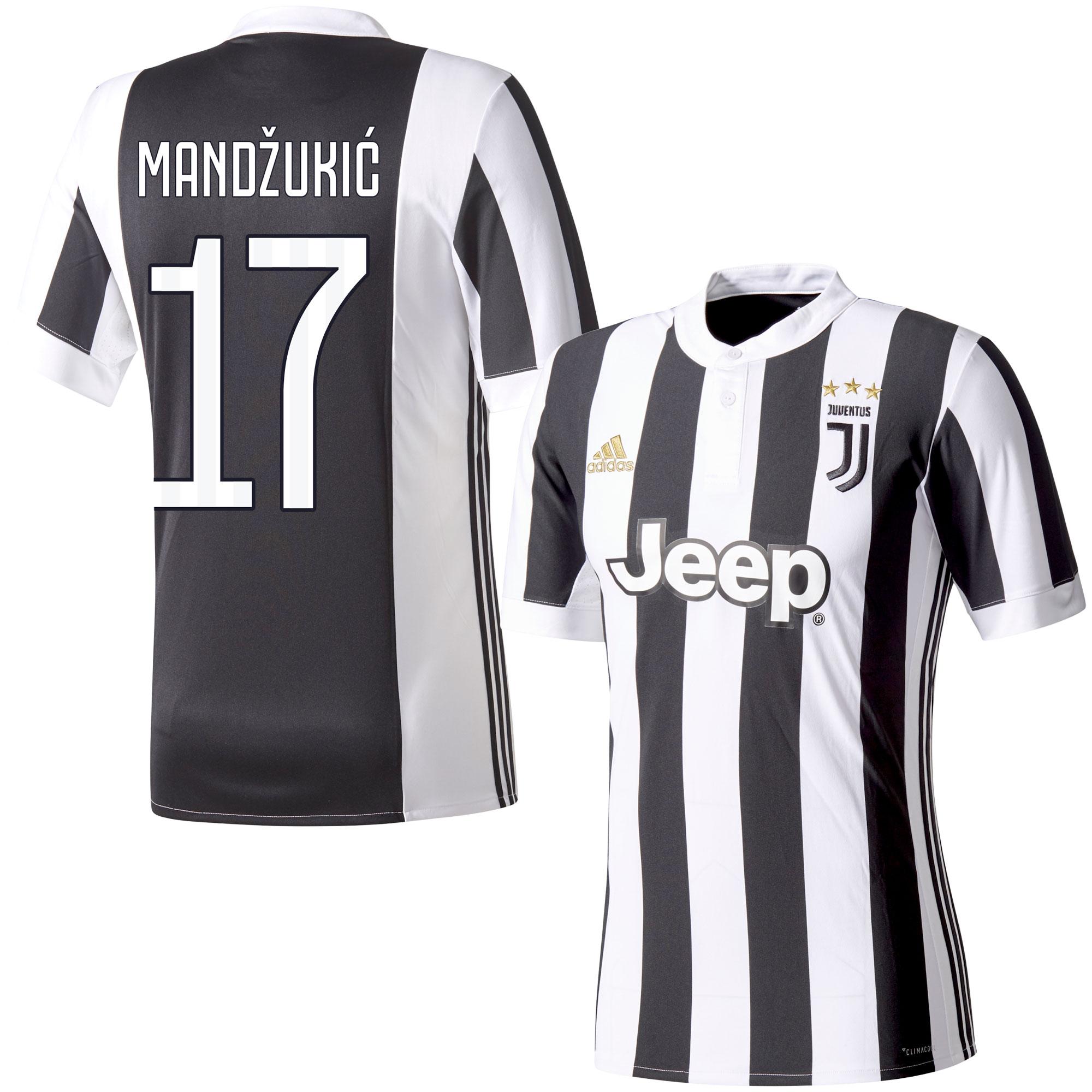 Juventus Home Mandzukic Jersey 2017 / 2018 (Fan Style Printing) - 58