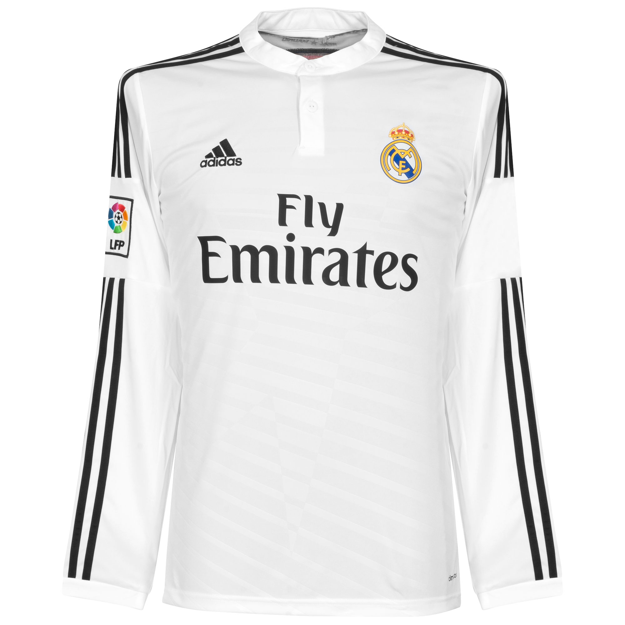 Real Madrid Home L/S Jersey 2014 / 2015 - 62