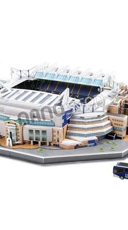 Chelsea Stamford Bridge Stadium 3D Puzzle - OS