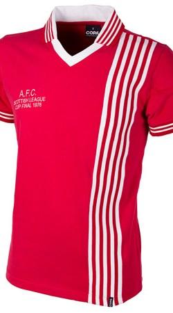 76-77 Aberdeen League Cup Final Retro Shirt - XXL