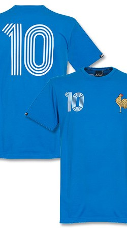 Copa France Capitaine Tee - Blue - S