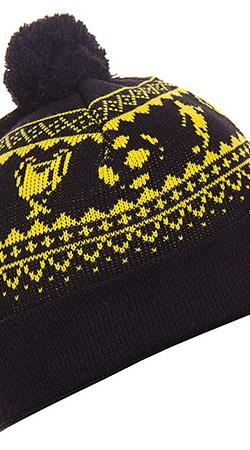 Copa Beanie - Black/Yellow - OS