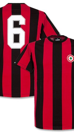 COPA Milan Capitano Tee - Red/Black - L