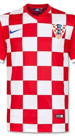 Croatia Home Jersey 2014 / 2015 - XL