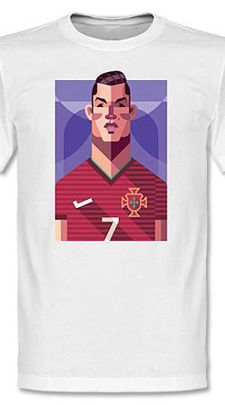 Playmaker Ronaldo Tee - S