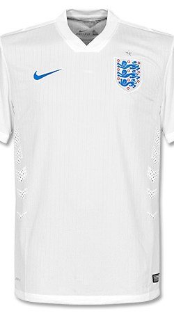 England Home Authentic Jersey 2014 / 2015 - XL