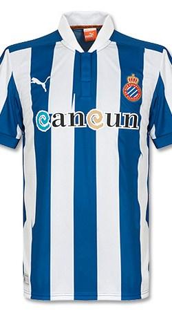 12-13 Espanyol Home Jersey - S