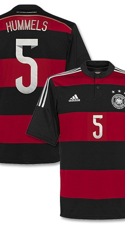 Germany Away Hummels Jersey 2014 / 2015 - 54