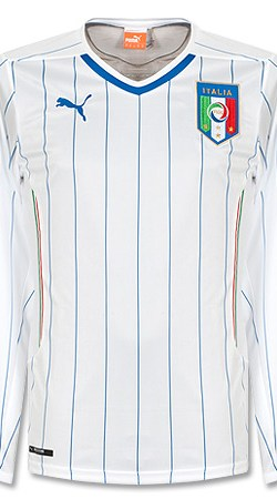 Italy Away L/S Jersey 2014 / 2015 - S