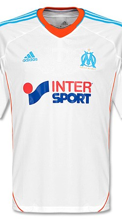 12-13 Olympique Marseille Home Jersey - 58