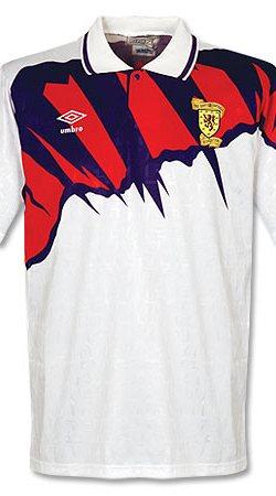 91-93 Scotland Away Jersey - Grade 8 - M