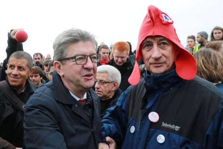 Jean-Luc Mélenchon ce samedi à Bordeaux.