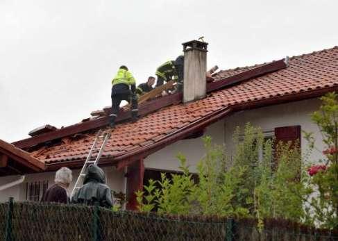 Intempéries : le Pays basque touché par de fortes rafales et une mini-tornade