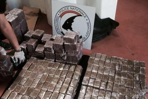 """400 kg de cannabis saisis dans un """"go-fast"""" vers Toulouse"""