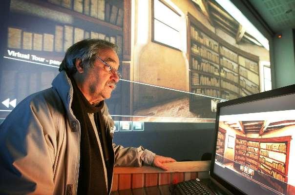 La bibliothèque de Montaigne en 3D