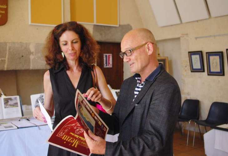Catherine Testa et André Furlan