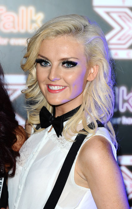 Perrie Edwards Works Some Series Black Magic With Her Hair