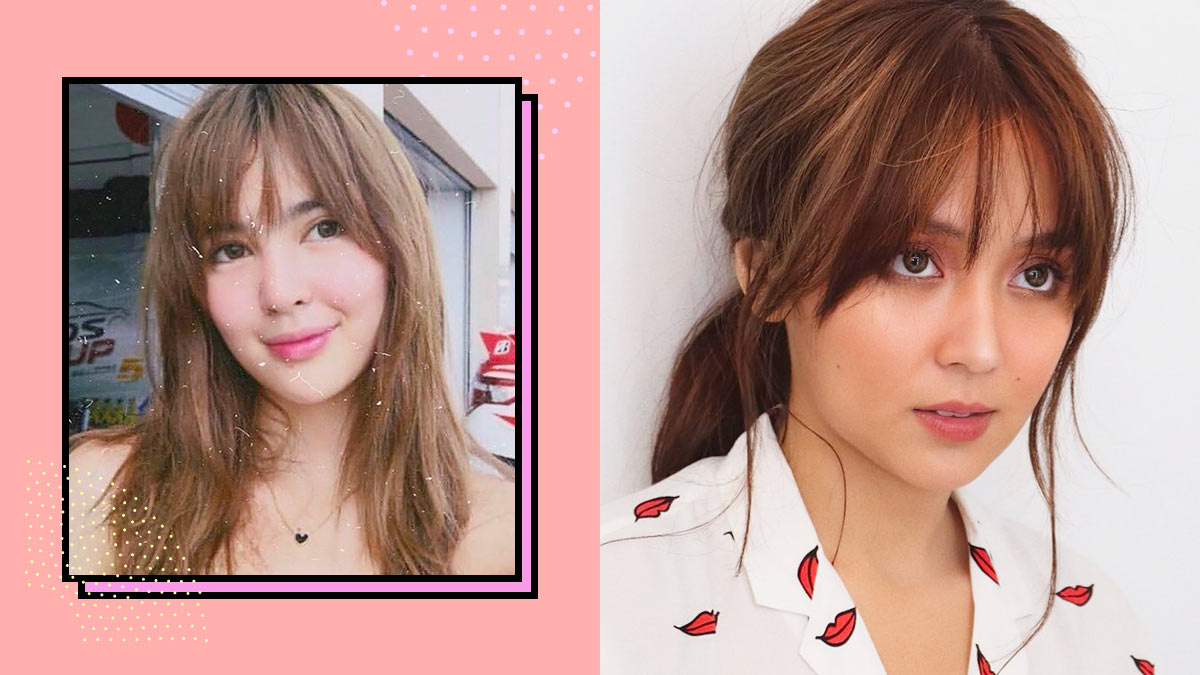 Hairstyles With Bangs Cosmoph