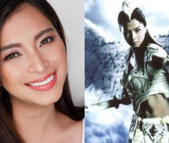 Check Out Angel Locsins Throwback Post Of Her Mulawin Days