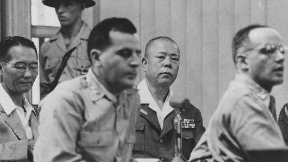 Tomoyuki Yamashita's Execution