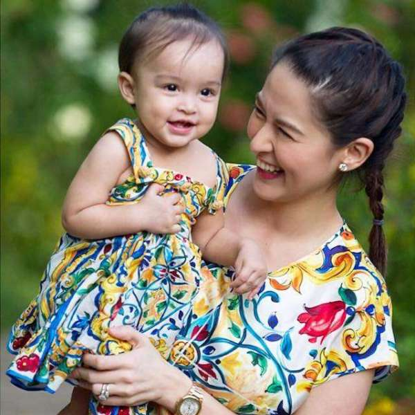 12 Times Marian Rivera and Baby Zia Were Best at Twinning ...