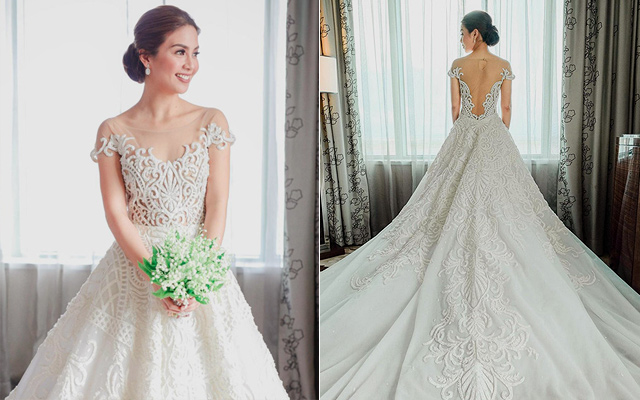 Beautiful Pinoy Celebrity Wedding Gowns