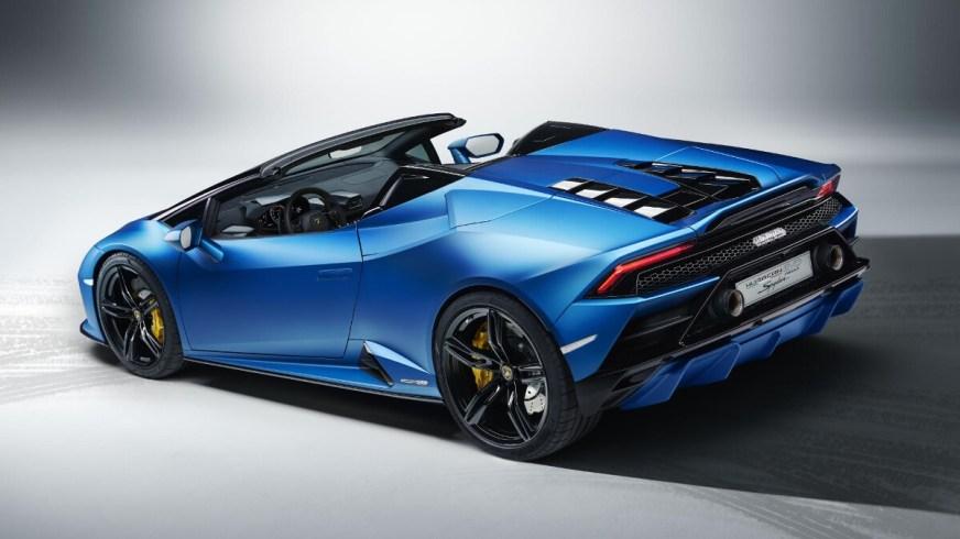 2020 Lamborghini Huracan Evo RWD Spyder: Specs, Features